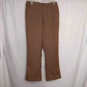 ALFRED DUNNER Tan Pants Sz 8
